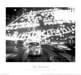 Times Square Montage 1947 (small) Lámina por Ted Croner