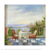 Terrace View I Prints by Alexa Kelemen