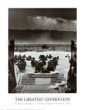 La generación de los héroes, desembarco en la playa de Omaha en el día D el 6 de junio de 1944 Póster por Robert F. Sargent