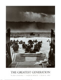 The Greatest Generation D-Day Landing Omaha Beach June 6, 1944 Prints by Robert F. Sargent