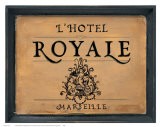 L'Hotel Royale Prints