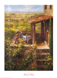 Tuscan Patio Prints by  Andino