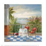 Terrace View III Print by Alexa Kelemen