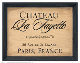 Chateau la Fayette Prints