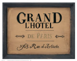 Grand l'Hotel Psters
