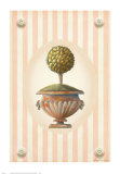 Garden Topiary I Print by Victoria Splendore