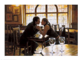 First Kiss Print by Rob Hefferan
