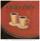 Double Shots Poster by Jillian David