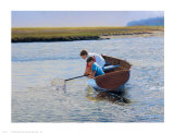 Crabbing Prints by Peter Quidley
