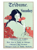 Chicago Tribune Sunday Edition Giclee Print