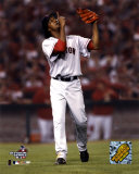 Pedro Martinez after striking out Angel's Figgins, 7th inning of the 2004 ALDS, Game 2 ©Photofile Photo