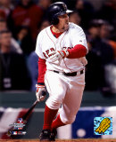 Bill Mueller - Hits game-tying RBI single, 9th inning, Game 4, 2004 ALCS ©Photofile Photo