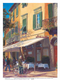 Cafe Capri II Prints by P. Moss