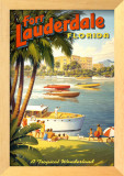 "Mini ""Fort Lauderdale"" Prints by Kerne Erickson"