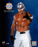 Rey Mysterio 143 - Blue and Black background ©Photofile Photo