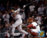 Alex Rodriguez - Hits RBI double, 1st inning, Game 3 of 2004 ALCS &#169;Photofile Photographie