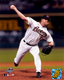 Brandon Backe - Pitching in game 5 of the 2004 NLCS ©Photofile Photo