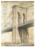 Brooklyn Bridge Posters by P. Moss