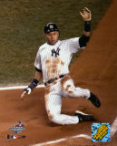 Jeter sliding into home -Game 2 of the 2004 ALDS ©Photofile Photo