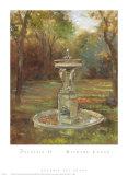 Fountain II Print by Michael Longo