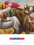Win Place Show Prints by Karen Dupr&#233;