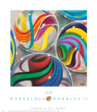 Marvelous Marbles II Posters by Karen Dupré
