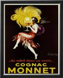 Cognac Monnet Poster