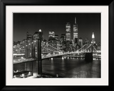 New York, New York - Brooklyn Bridge Prints by Henri Silberman