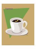 Espresso Giclee Print by  ATOM