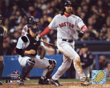 Johnny Damon hitting grand slam, Game 7  - ALCS ©Photofile Photo