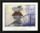 Antique Iron Rail II Print by Barbara Ellison