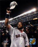 Manny Ramirez celebration, Game 7 - ALCS ©Photofile Photo