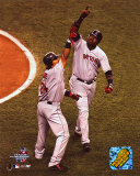 David Ortiz & Manny Ramirez - HR, Game 7 - ALCS Photo