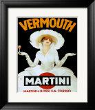 Martini Rossi & Torino Print by Marcello Dudovich