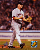 Keith Foulke recording the save, Game 6 - '04  ALCS ©Photofile Photo