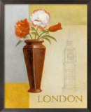 London Floral Views Posters by William Verner