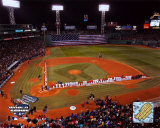 2004 World Series Opening Game - Nat'l anthem, Fenway Park, Boston Photo