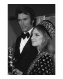 Clint Eastwood and Barbara Streisand Art