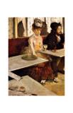L'Absinthe Giclee Print by Edgar Degas
