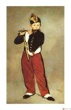 El tocador de pífano Lámina giclée por Edouard Manet