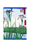 Irises a Pond Giclee Print by Ando Hiroshige