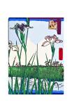Irises a Pond Giclee Print by  Hiroshige II