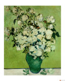 A Vase of Roses, c.1890 Giclee Print by Vincent van Gogh