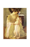 Young Child at Bath Time Giclee Print by Mary Cassatt