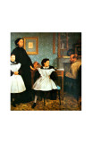 The Bellelli Family Giclee Print by Edgar Degas