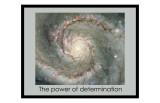 La fuerza de la determinación Lámina giclée
