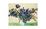 Vase of Irises, c.1890 Giclée-trykk av Vincent van Gogh