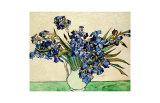 Vase of Irises, c.1890 Giclee Print by Vincent van Gogh