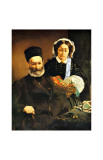 Portrait of M. and Mme. Auguste Manet Giclee Print by Édouard Manet