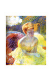 Lydia at the Theater Giclee Print by Mary Cassatt